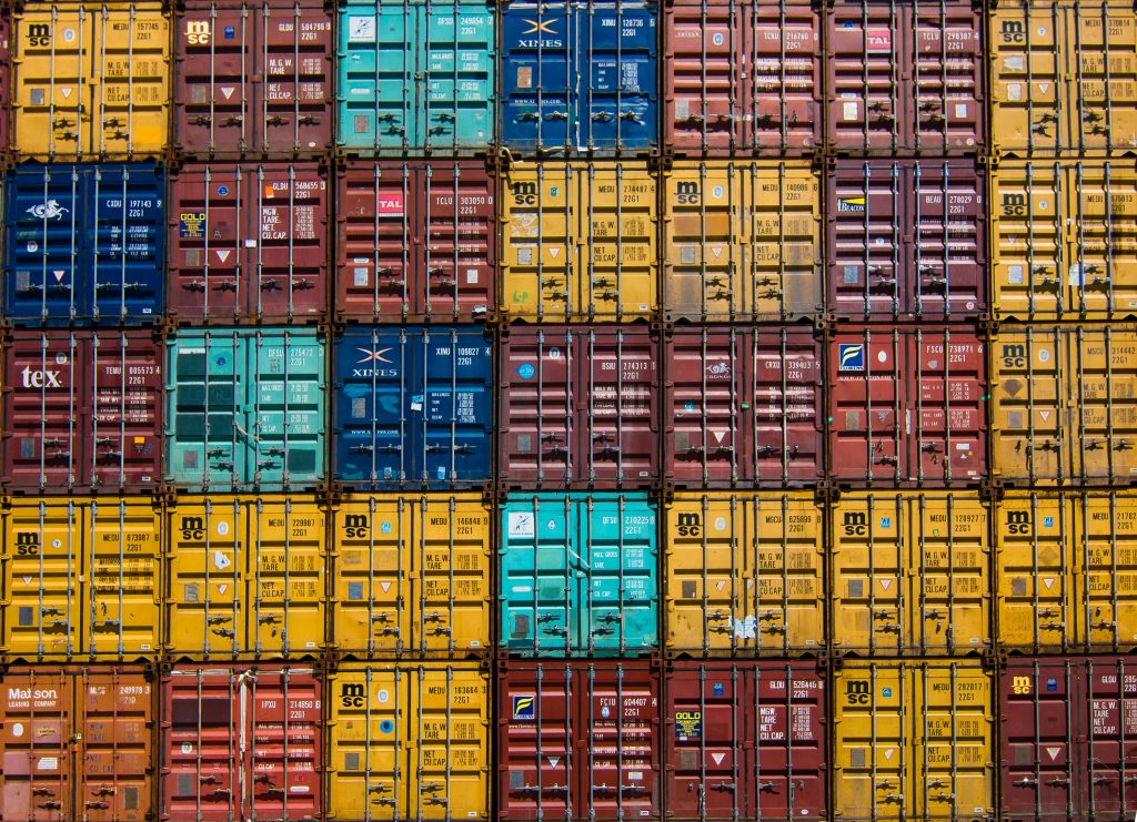 Containers stockage