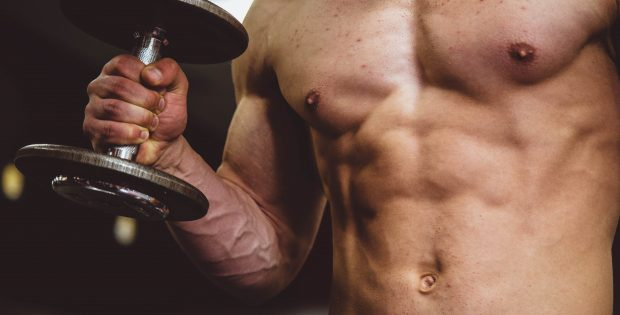 Torse homme muscles sport