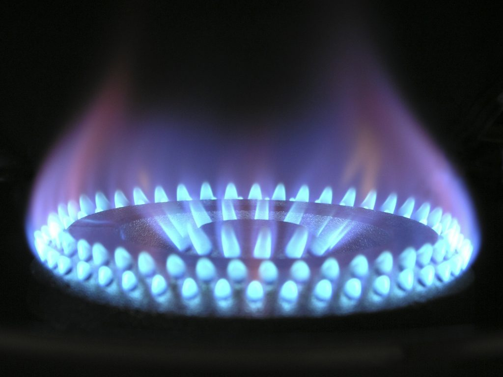 Feu de cuisine à gaz