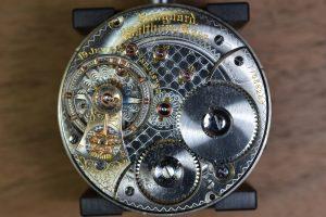 Mécanisme d'une montre ancienne